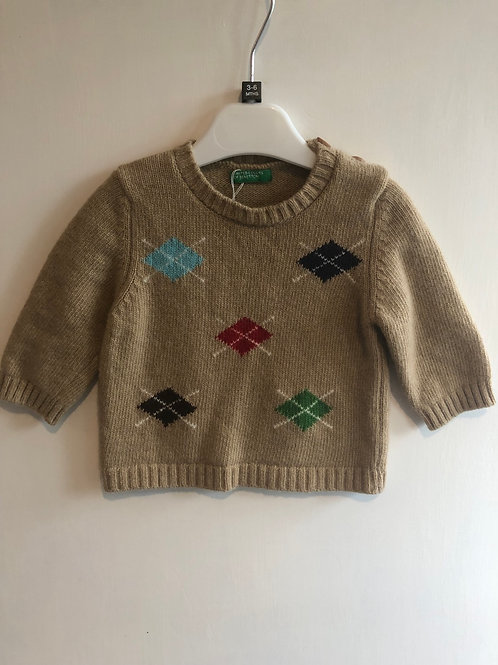 Benetton Jumper 3-6 months