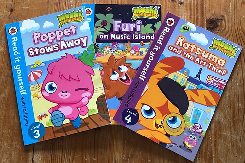 Read it yourself Moshi Monsters