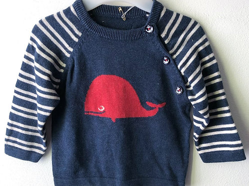 Bees and Dragons Jumper 3-6 months