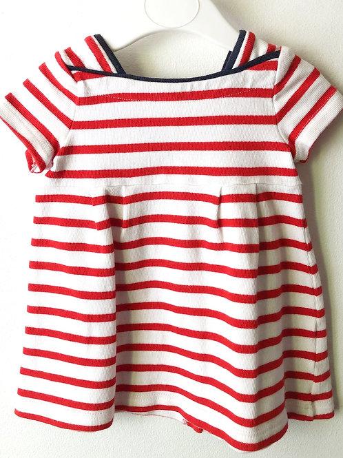 Petit Bateau Dress 3-6 months