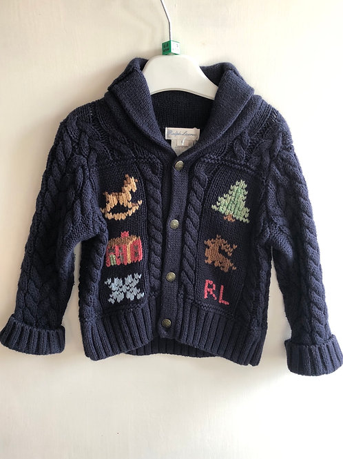 Ralph Lauren Cardigan 6-9 months