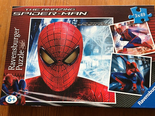 Spiderman puzzle - aged 5+
