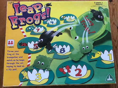Leap Frogs Game