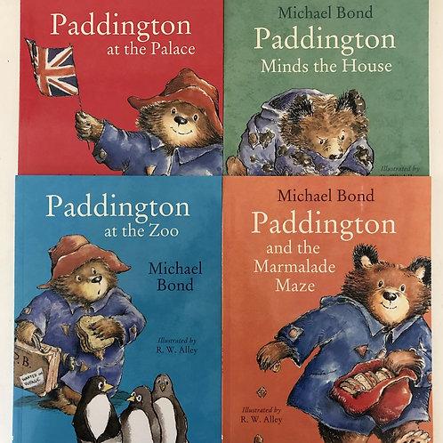 4 x Paddington Bear Books