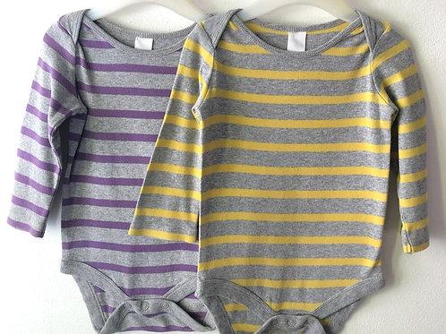 Two Boden Bodysuits 6-12 months