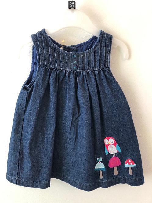 John Lewis Pinafore Dress 3-6 months