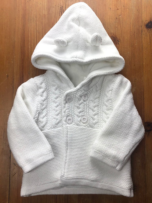 Mothercare Hooded Cardigan 0-3 months
