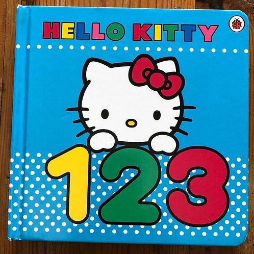 Hello Kitty 123 Board Book