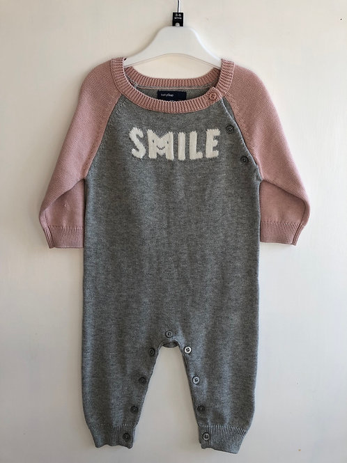 Gap all in one knit 3-6 months
