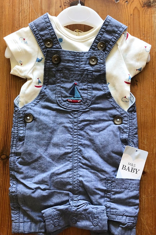 M&S Outfit Newborn