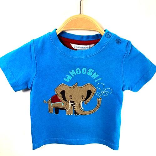 John Lewis T-shirt 3-6 months