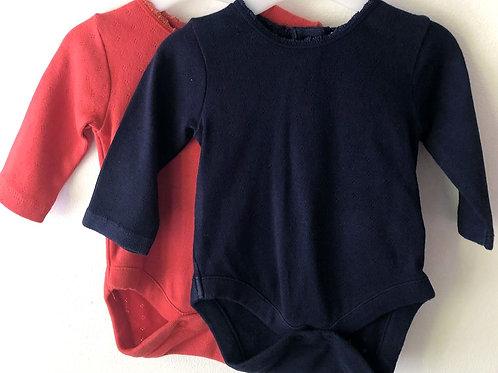 Two Next Bodysuits Newborn