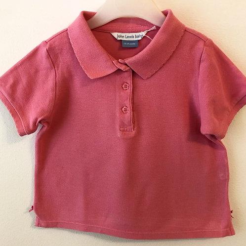 John Lewis Polo Shirt 18-24 months