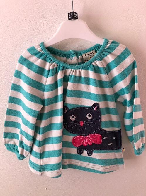 Frugi Long Sleeved T-shirt 3-6 months