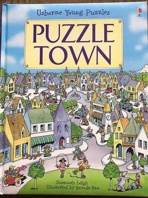 Usborne Young Puzzles Book