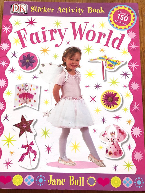 Fairy World Sticker Activity Book