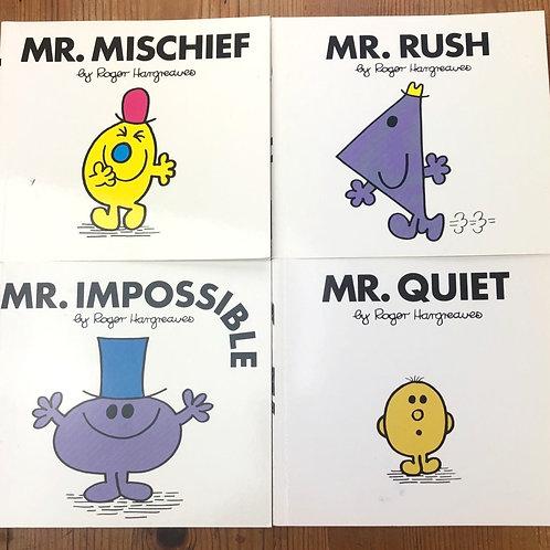 Mr Men Story Books