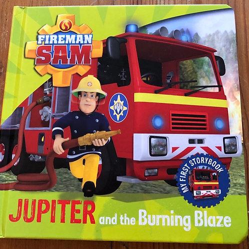 Jupiter and the Burning Blaze Board Book