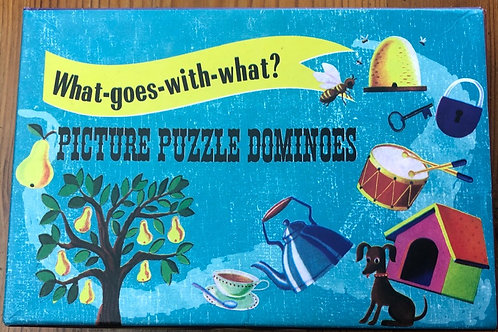 Picture Puzzle Dominoes