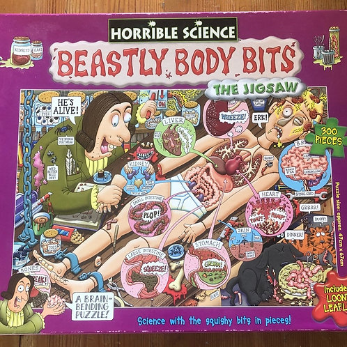 Beastly Body Bits Puzzle