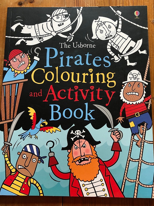 Pirates Colouring and Activity Book