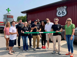 Barn 66 Dispensary Ribbon Cutting