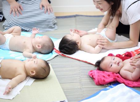 高槻 摂津富田 ベビーマッサージ教室 開催します。