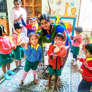 Story Telling & Carnatic Vocal at Daffodil Pre-School