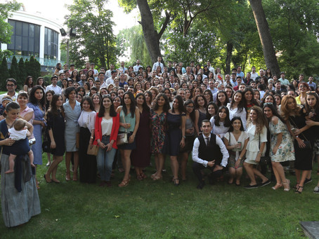 Réception des Alumni à l'Ambassade de France