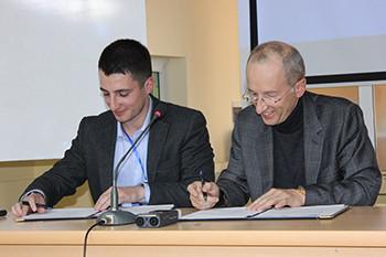 RINArmenia a signé une convention de coopération avec l'UFAR
