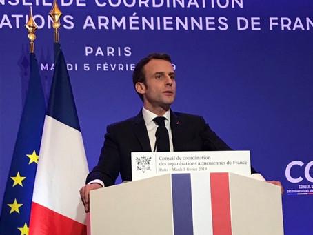 Emmanuel Macron apporte son soutien à la levée de fonds UFAR20+