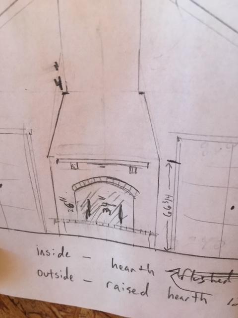 May Place Fireplace