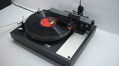 AirProdigy arm mounted on Thorens TD160