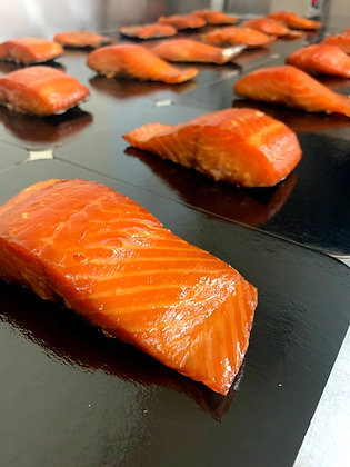 Hot Smoked Salmon  (Various Sizes)