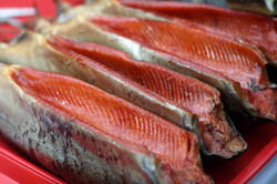 Hot Smoked Rainbow Trout