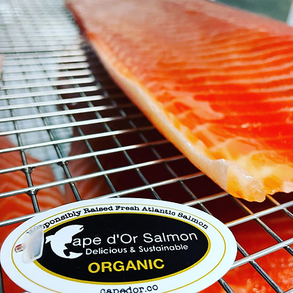 Organic Cold Smoked Cape D'or Atlantic Salmon, Ocean Wise Recommended