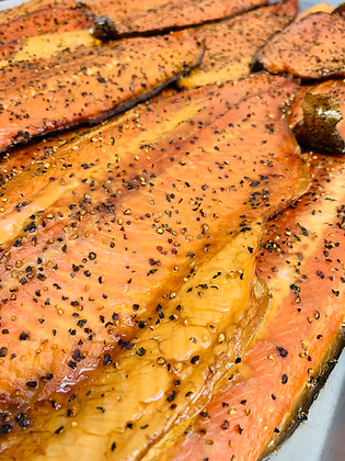 Hot Smoked Rainbow Trout (Various Sizes), Ocean Wise Recommended