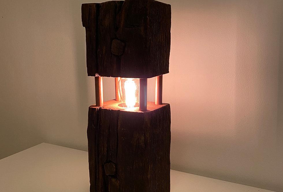 Kupfer Fachwerklampe Werner