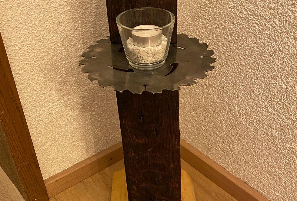 Kerzenhalter Sägeblatt