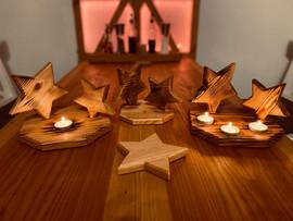 Lichtspiel Sterne