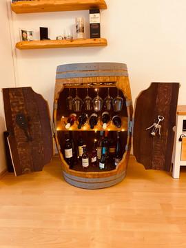 Weinfassbar