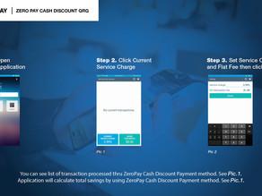 ZeroPay, New Cash Discount Application on Poynt