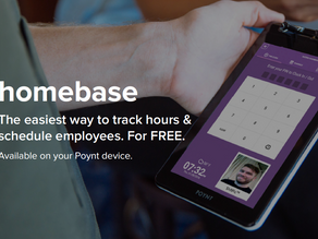 Homebase, the employee management application is available on Poynt