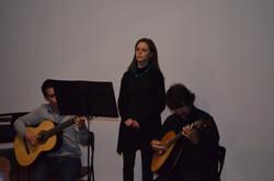 Profs. Miguel, Mafalda e Hugo