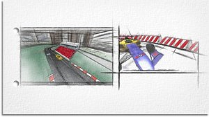 VSC Grandstand and barriers Concept.png