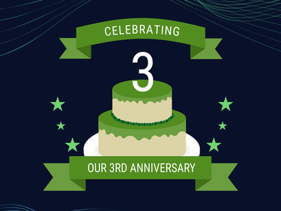 Geoverse Celebrates its 3rd Anniversary May 29th!