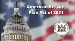$1.9 Trillion USD American Rescue Plan Act Signed into Law