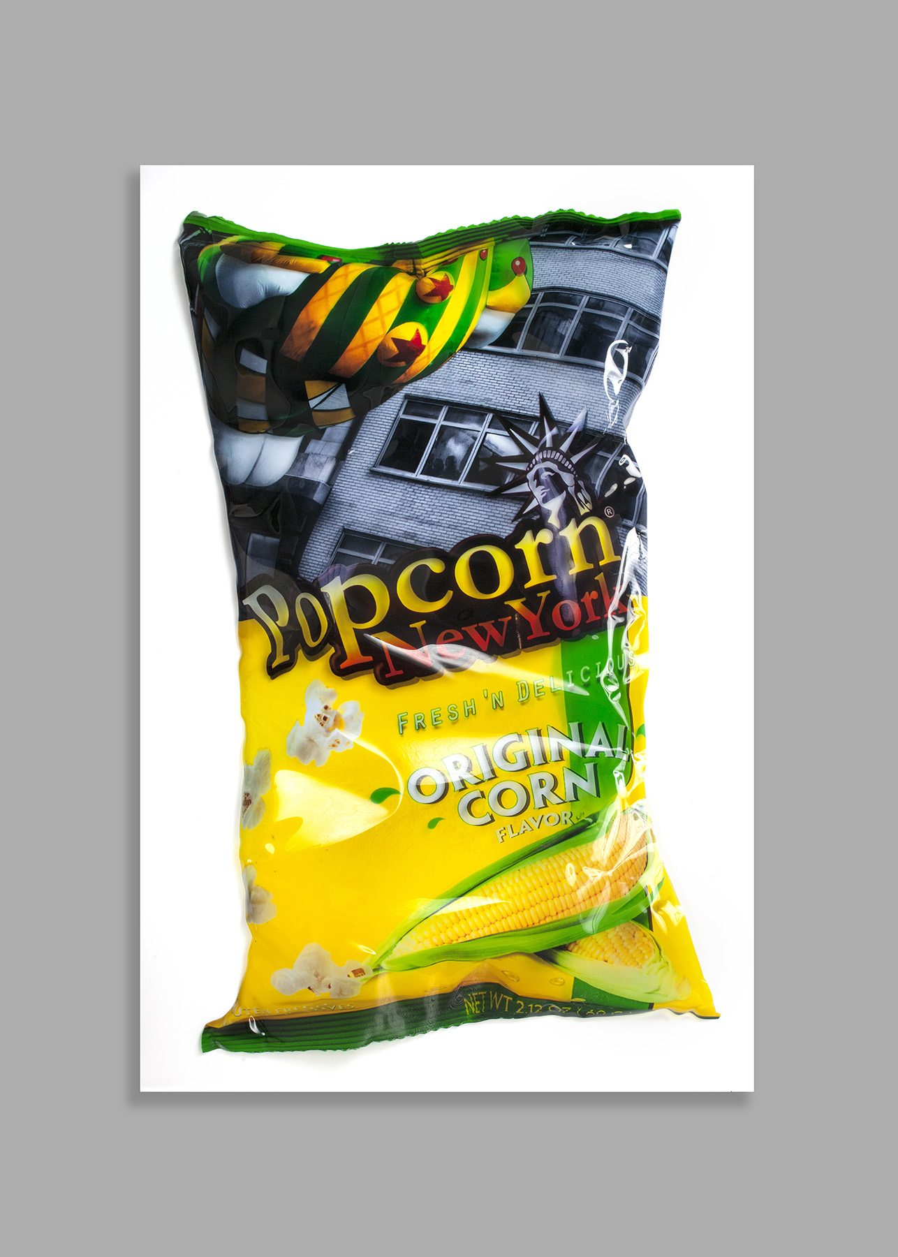 POP CORN. SINGLE PACK. LARGE