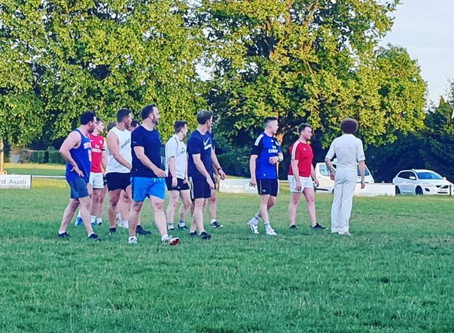 Pre-pre-season training at Stratford RFC