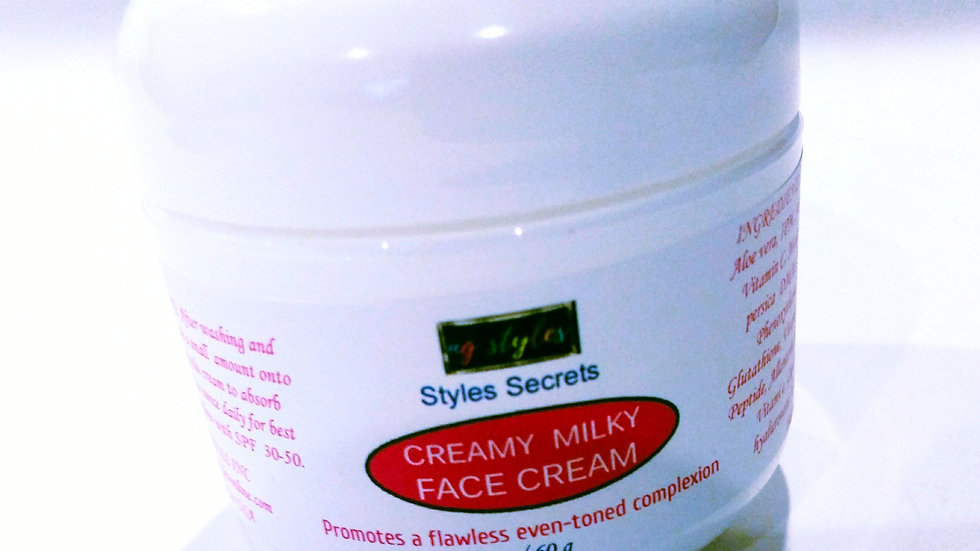 STYLES SECRETS CREAMY MILKY BRIGHTENING FACE CREAM